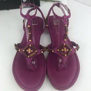 Cole Haan Beaded Vamp Sandals